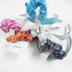 Metallic Mixed Color Headband & Scrungi Set .54 per set