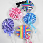 Lolly Pop Look  Ponytail Holders .56 ea set Asst Colors