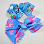"5"" 2 Style Gator Clip Bow w/ Mermaid Theme .54 each"