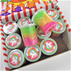 """3"""" Multi Color Noise Fun Putty  12 per display .58 each"""