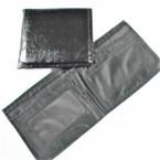 Bi Fold All Black Leather Look Men's Wallets .58 each