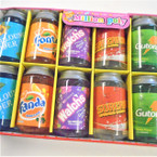 "3.5"" Mock Soda Can Theme Gel Slime  12 per display bx .58 each"