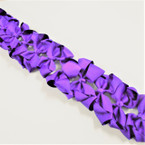 "3.50"" All Purple Color Gator Clip Fashion Bow .27 ea"