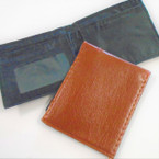 Bi Fold All Brown Leather Look Men's Wallets .58 each