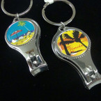 Florida Theme Nail Clipper w/ Bottle Opener .54 ea
