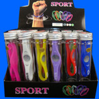 Silicone Sport Balance Bracelet 24 pc display unit I Love JESUS