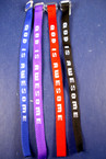 Wooven GOD Is Awesome Bracelet Asst Colors 12 per pack