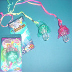 Flashing Pacifier w/ Whistle 24 per box .70