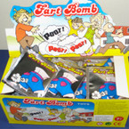 Toy Fart Bomb Bags 6 dz per display box
