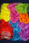 "Jumbo 6"" Silk Flower 3 in 1 Asst Bright Colors .54 ea"