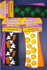 2 Pk Halloween Theme Stretch Headwraps 36 per pk  ON SALE .65 per pk
