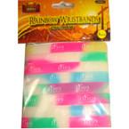 8 Pack Glow Jesus is Awesome Wristbands 24-8 pks per pk .50 per pk
