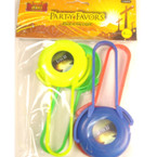 4 Pk Mini Frisbee Game Jesus is the Light 24-4 pks per pk .33 per pk