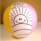 Inflatable Color Your Own Jesus Loves You Beach Ball ON SALE .35 each
