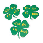 "4"" Kiss Me I'm Irish Anywhere Magnets 12 per pack .25 ea"
