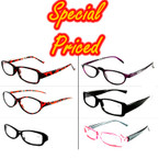 Ladies Asst Style Plastic Reading Glasses .65 ea