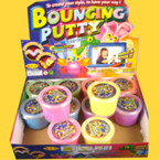 "2"" Size Fun Bouncing Putty 12 per display .75 ea"