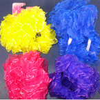 2 Pack Chiffon Hair Twisters Asst Brights .54 per set