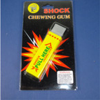Shocking Gag Chewing Gum 24 per display bx  ON SALE  .65 ea