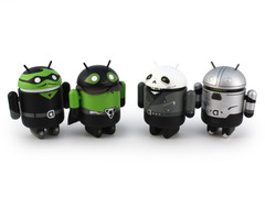 Android Heroes and Villains set