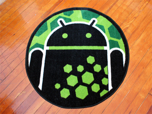 Android Hexcode Rug