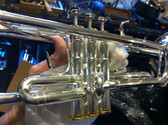 https://www.youtube.com/watch?v=f0pI14MDAvw  Solista / Hunter Silver GZ 466 LPSS  Bb Trumpet with Solid Silver Leadpipe.