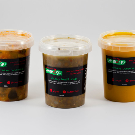 Our signature soups range
