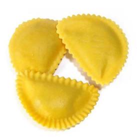 Pasta Organic Mezzelune with Seitan, Tomato & Basil