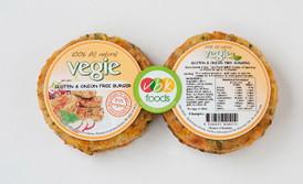 Vegie Burger - (4) Sweet Potato Gluten Free VBK