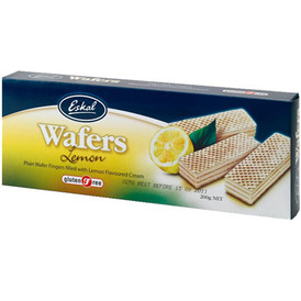 Lemon Wafers - Eskal Gluten-Free