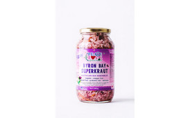 SuperKraut Tasmanian Seaweed Raw Organic Sauerkraut