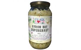 SuperKraut Dill Raw Organic Sauerkraut