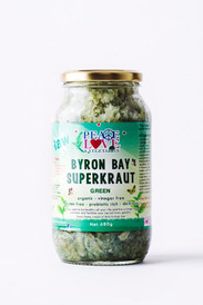 SuperKraut Green Raw Organic Sauerkraut