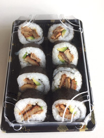 "Teriyaki ""chicken"" sushi pack"