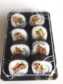 """Teriyaki """"chicken"""" sushi pack"""