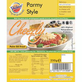 VBites Parmesan-Style Cheezly