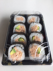 "Spicy ""tuna"" sushi pack"