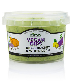 Fifya Vegan Dips Kale, Rocket & White Bean