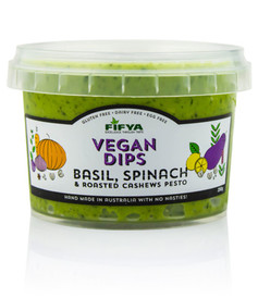 Fifya Vegan Dips Basil Spinach & Roasted Cashews Pesto