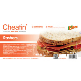 V-bites streaky bacon-style rashers