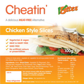 V-bites chicken style slices