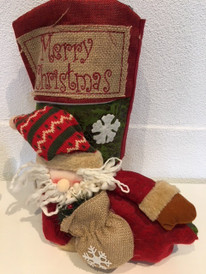 Vegan Christmas Santa Boots- large size