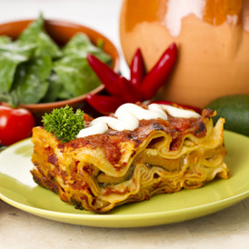 Roasted Vegetable Lasagne