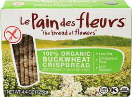 Le Pain des fleurs Organic Crispbread Gluten Free Buckwheat