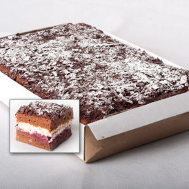 Blackforest cake slab