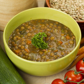 Chunky Lentil Soup