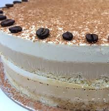 Raw 6 Layer Tiramisu Cake