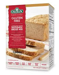 Alternative grain wholemeal bread mix