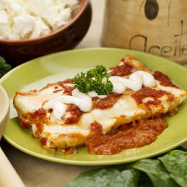 Creamy Ricotta & Spinach Cannelloni