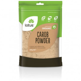 Lotus organic carob powder